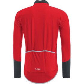GORE WEAR C5 Windstopper Long Sleeve Jersey Men red